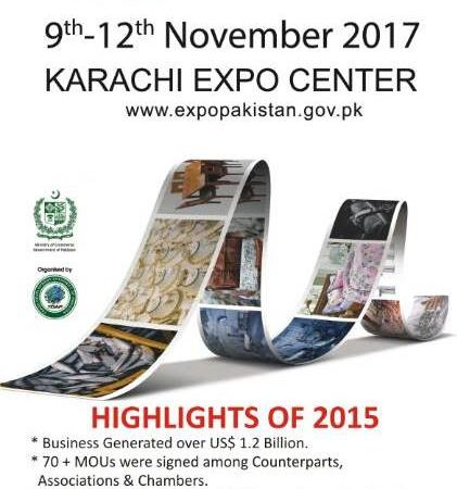 10th Expo Pakistan, Nov 9th – 12th 2017 – Pakistan Invites Nigerian Businessmen