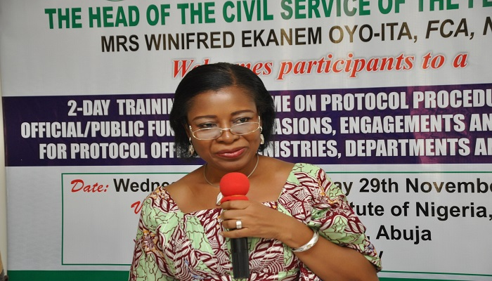 FG Committed To Capacity Building Of Civil Servants – HCSF