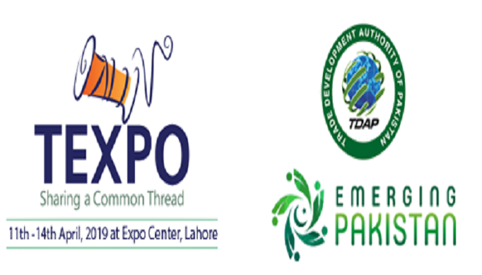2nd Edition of the Largest textile Sector Exhibition of Pakistan – TEXPO , holds 11 – 14th April, Expo Centre, Lahore