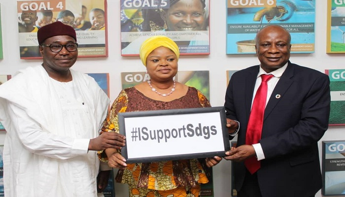WOMEN NEED EVERY SUPORT TO WORK AND COMPLIMENT THE MEN(SDGs).