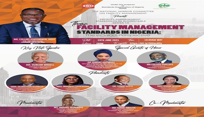 NIGERIA TO COMMENCE FACILITY MANAGEMENT STAKEHOLDERS ROUND TABLE